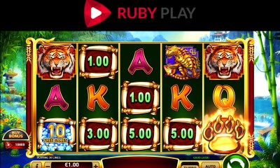 RubyPlay launches new video slot Blazing Tiger