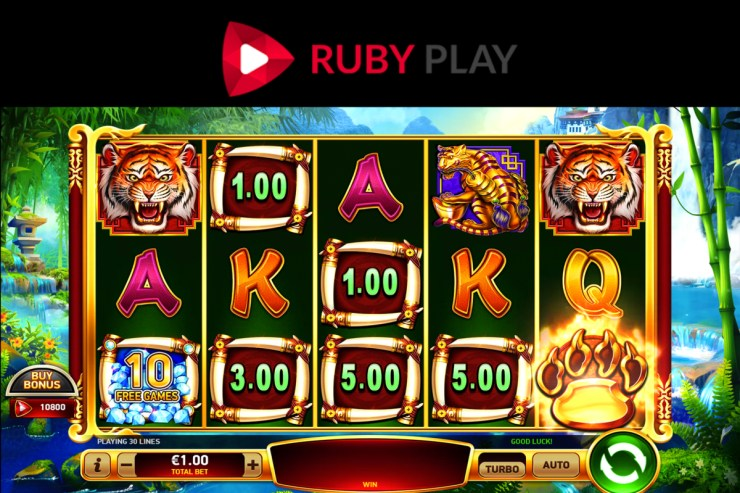 RubyPlay meluncurkan slot video baru Blazing Tiger