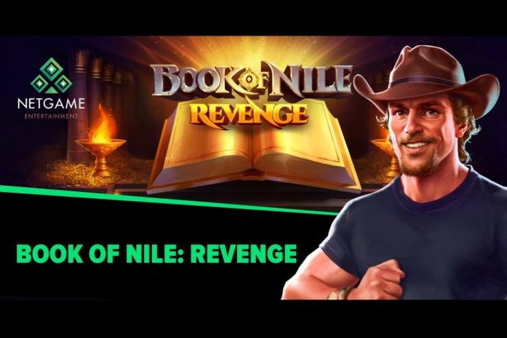 NetGame Entertainment releases blockbuster Book of Nile: Revenge slot