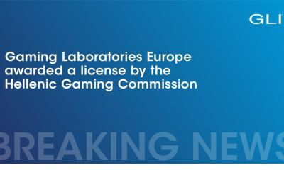 GLI Europe Authorized to Test and Certify iGaming, VLT and Casino Products for Greece