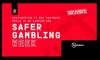 Southampton FC team up with Sportsbet.io to support Safer Gambling Week