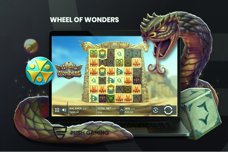 Prepare to be awed with Push Gaming's Wheel of Wonders