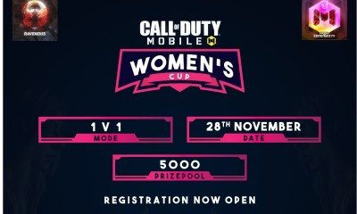Indian Gaming League (IGL) to host Call-Of-Duty Mobile Women's Cup Tournament from 28th-30th November 2020