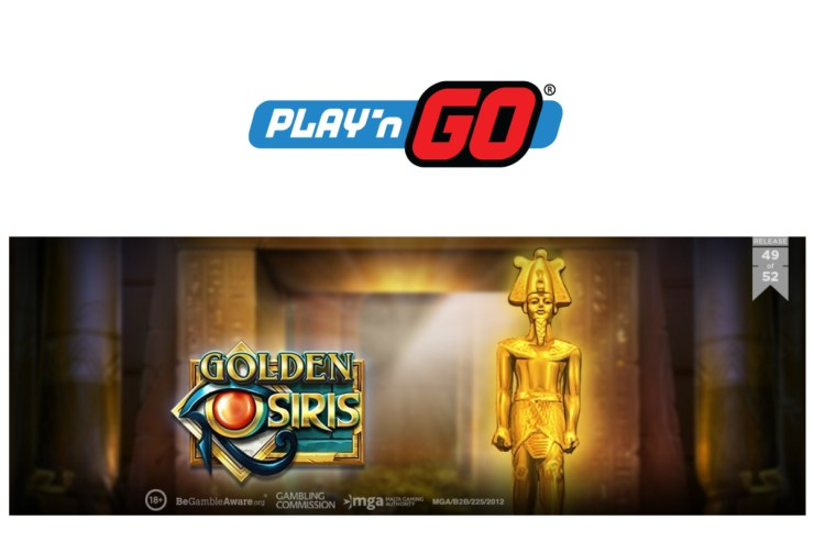 Play'n GO Release Brand New Treasure with Golden Osiris