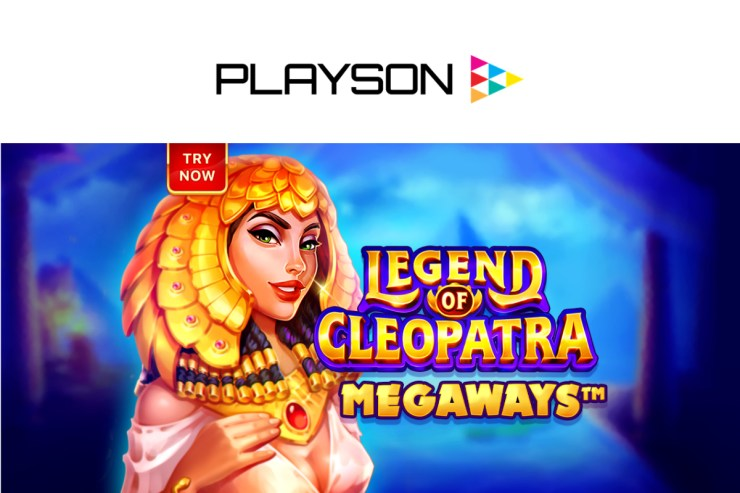 Playson bows down to the queen in Legend of Cleopatra: Megaways™