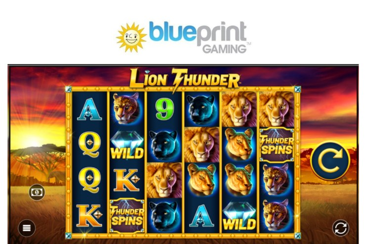 Boost your free spins in Blueprint's Lion Thunder