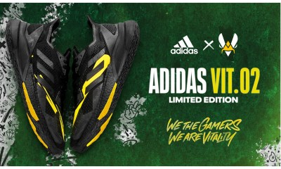 adidas and Team Vitality unveil VIT.02, the second version of its limited-edition sneakers