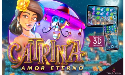 Triple Cherry new Video Slot release: Catrina, Amor Eterno