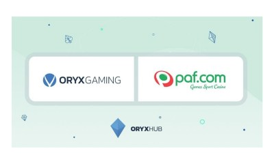 ORYX Gaming strikes multi-jurisdiction distribution deal with Paf