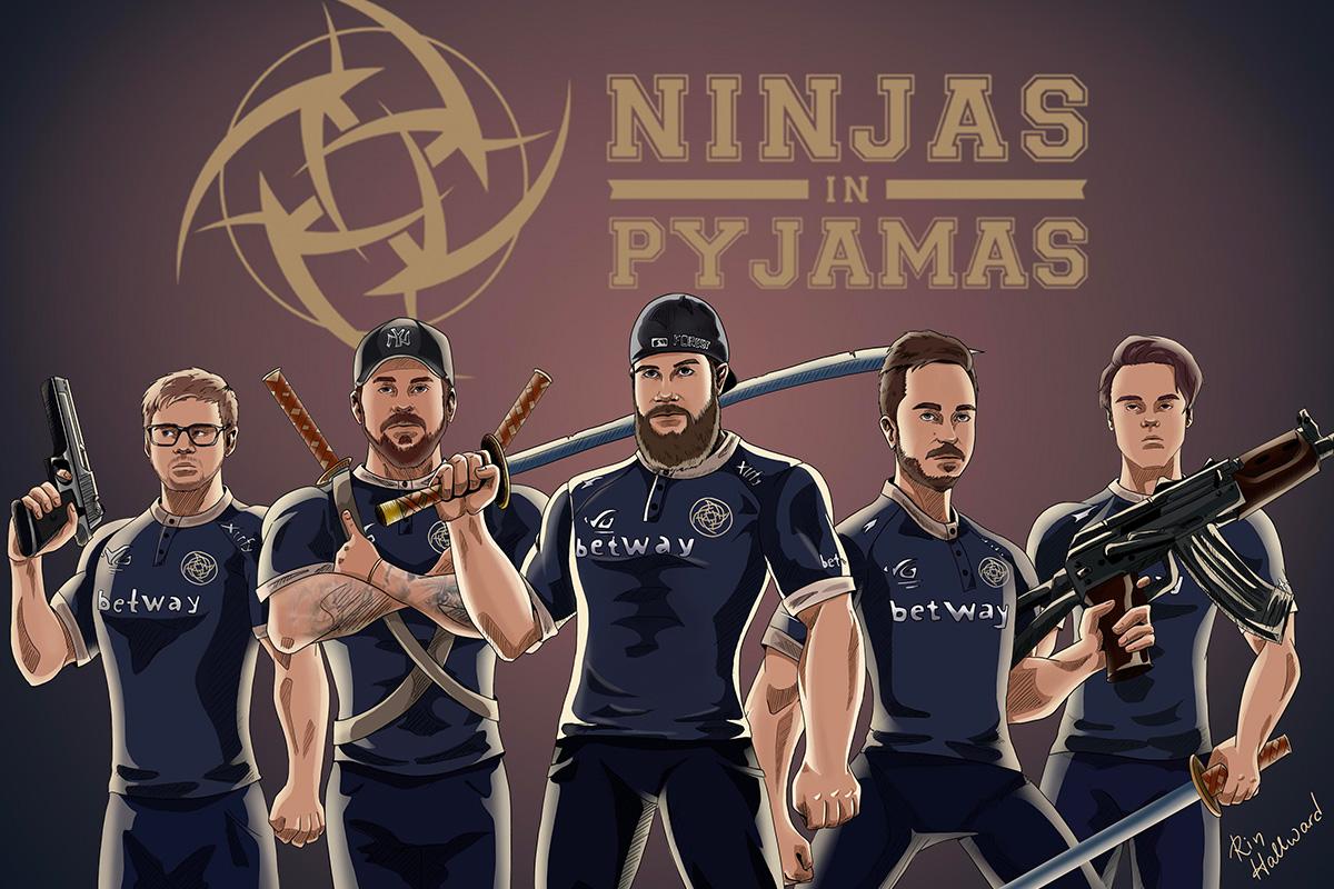Ninjas in Pyjamas Mengumumkan Perubahan Merek