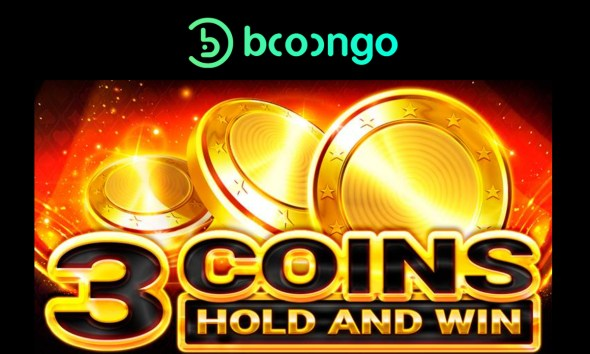 Booongo delivers classic-themed 3 Coins to Hold and Win portfolio