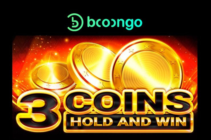 Booongo memberikan portofolio 3 Coins to Hold and Win bertema klasik