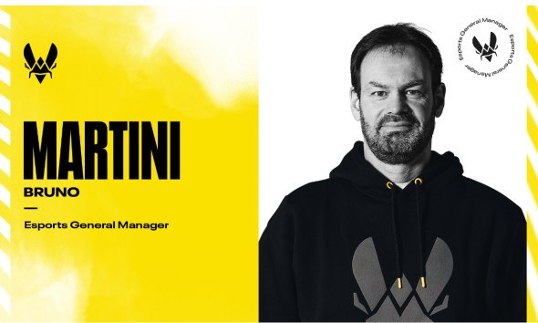 Team Vitality Reveals Paris Saint-Germain Handball Legend Bruno Martini as Esports General Manager