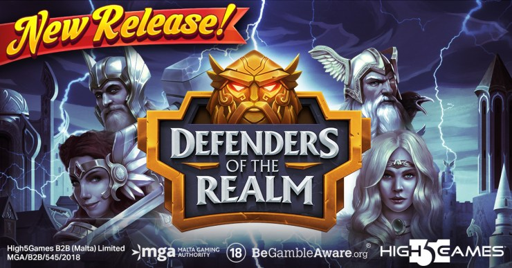 Team up with the Defenders of the Realm in High 5 Games' New Release!