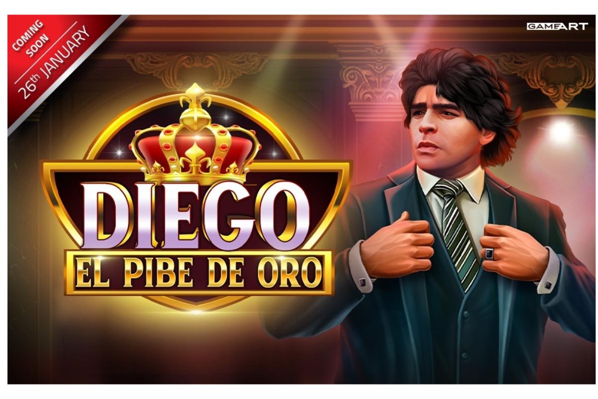 Tribute GameArt untuk Legenda, Diego: El Pibe de Oro