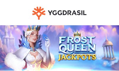 Yggdrasil ventures into the magical midwinter in search of fortune in Frost Queen Jackpots