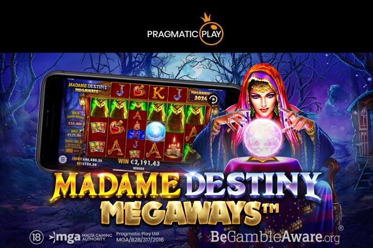 Play Pragmatis Ditetapkan untuk Petualangan Mistik di Madame Destiny Megaways ™