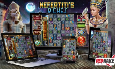 Red Rake Gaming has just released Nefertiti's Riches, a video slot with 1 million different ways to win