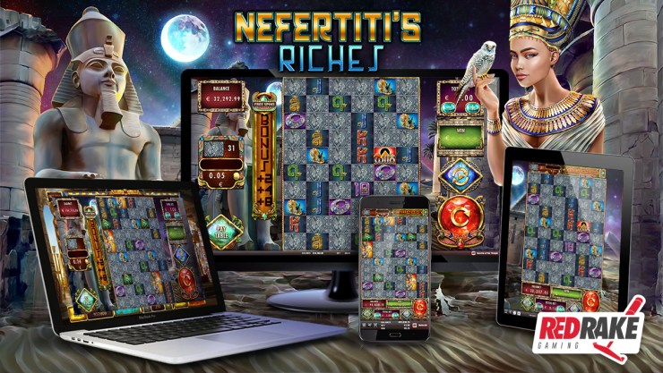 Red Rake Gaming baru saja merilis Nefertiti's Riches, slot video dengan 1 juta cara berbeda untuk menang