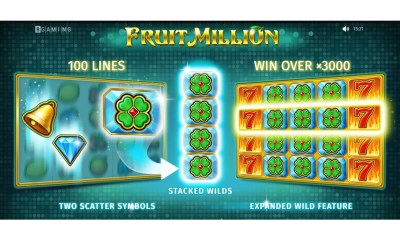 "Fruit Million a ""Shapeshifter"" Online Slot by BGaming"