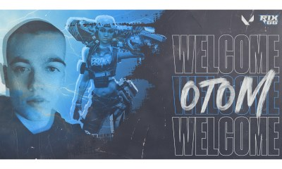 "Rix.GG welcomes Tom ""otom"" Hart to VALORANT roster"