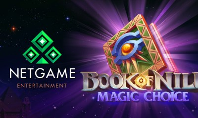 NetGame Releases Its Spellbinding Slot, Book of Nile: Magic Choice