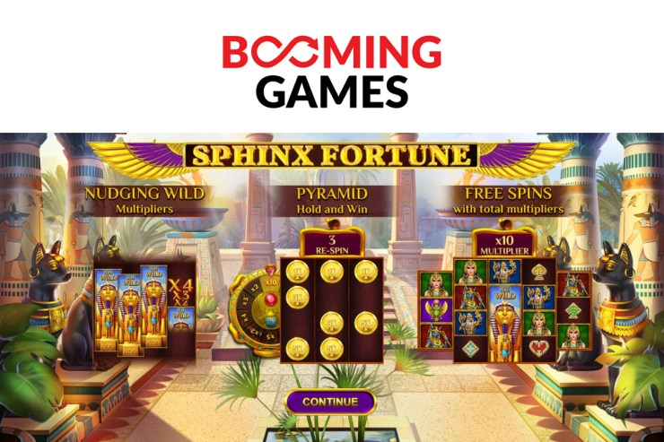 Booming Games releases Sphinx Fortune