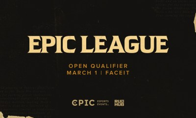 Registration for EPIC League Season 3 open qualifiers has started