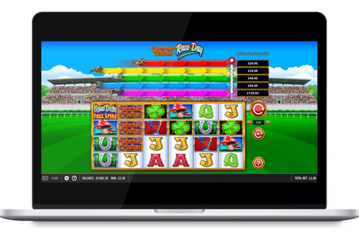 Scientific Games Off To The Races With Its New Release Rainbow Riches™ Race Day™