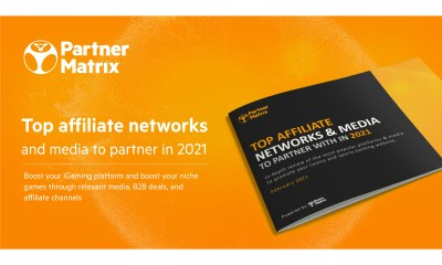 PartnerMatrix releases Top Affiliate Networks Report 2021