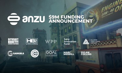 Anzu.io Raises $9 Million To Fuel Expansion of the World's Most Advanced In-Game Advertising Platform