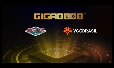 Reflex Gaming to leverage Yggdrasil's Gigablox™ mechanic