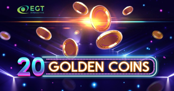 "EGT Interactive Releases its New Video Slot ""20 Golden Coins"""
