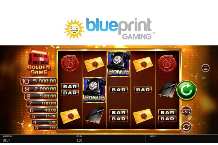 Blueprint memiliki Sentuhan Midas dengan Deal or No Deal ™: Golden Game