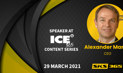 ALEXANDER MARTIN (CEO SKS365) AT ICE 365