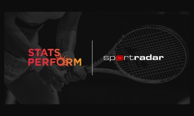 Stats Perform's official WTA tennis data to power Sportradar's in-play tennis services