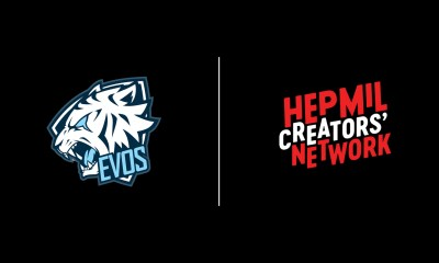 EVOS Esports Announces Partnership With Hepmil Creators' Network To Offer YouTube's Reserved Media In Indonesia