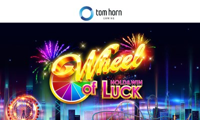 Spin your luck in Tom Horn Gaming's new game Wheel of Luck. Hold&Win