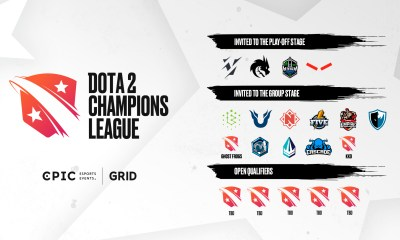 Epic Esports Events launch Dota 2 Champions League series