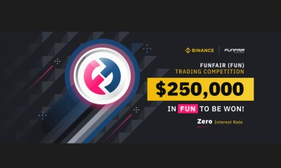 Binance $250000 FUN Token Trading Contest