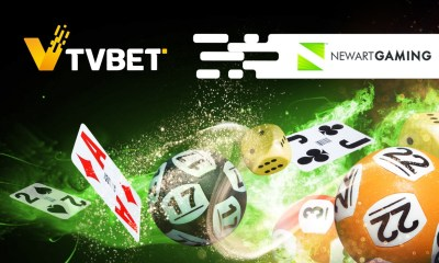 TVBET enters partnership with NewArt Gaming