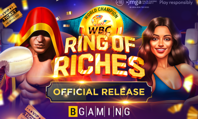 BGaming launches WBC Ring of Riches slot