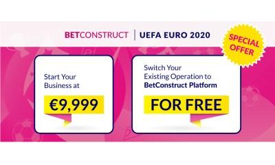 BetConstruct Preps a Superb Sportsbook Deal for EURO 2020