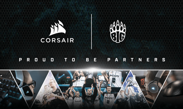 CORSAIR extends multi-year sponsorship with BIG