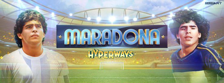 GameArt Launches Slot Game Based on Maradona