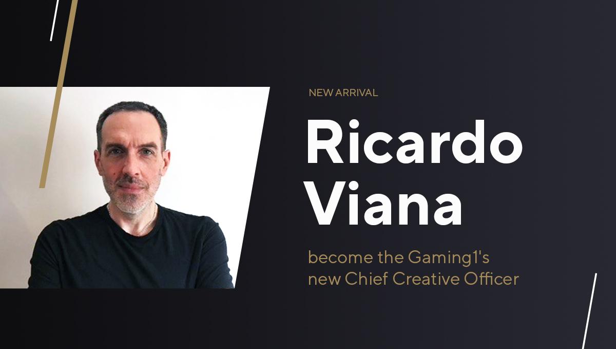 GAMING1 Mempekerjakan Ricardo Viana sebagai Chief Creative Officer