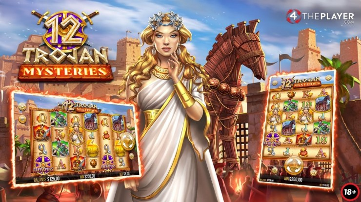 Temukan misteri Troy: 12 Misteri Trojan yang dirilis hari ini oleh 4ThePlayer!