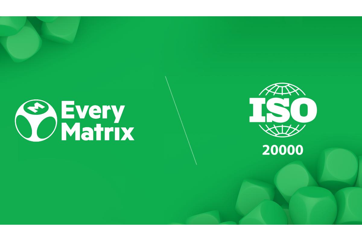 EveryMatrix gains ISO 20000 certification