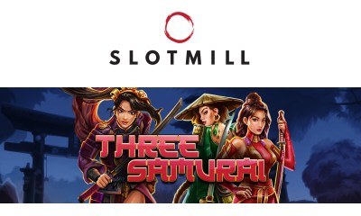 Join the Three Samurai on their quest for gold!