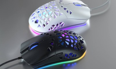 Marsback Zephyr, World's First Sweatproof Gaming Mouse with Cooling System